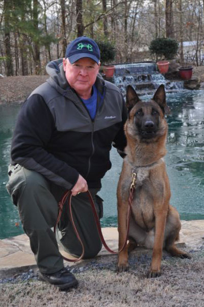 Officer Richard Cobble and K9 Bolt