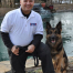 Eduardo Montijo and K9 Kane